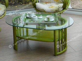 Table CANNES ovale